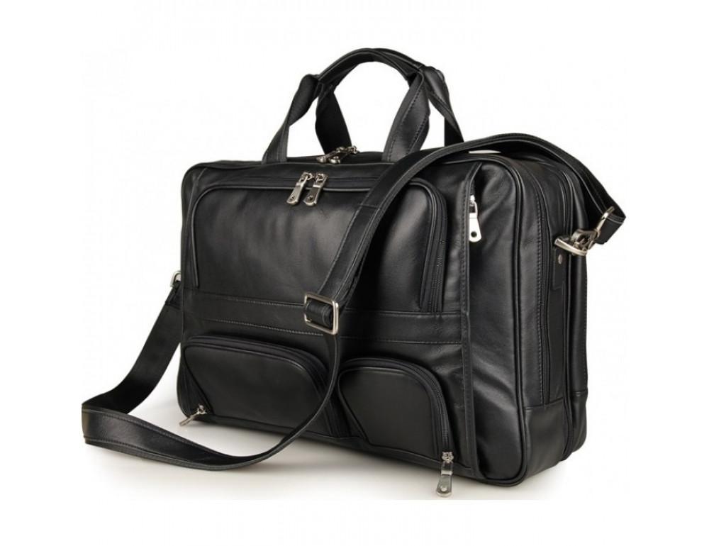 Чоловіча шкіряна сумка TIDING BAG 7289A - Фотографія № 1