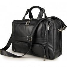 Мужская кожаная сумка TIDING BAG 7289A