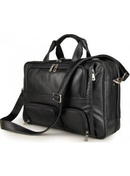 Чоловіча шкіряна сумка TIDING BAG 7289A