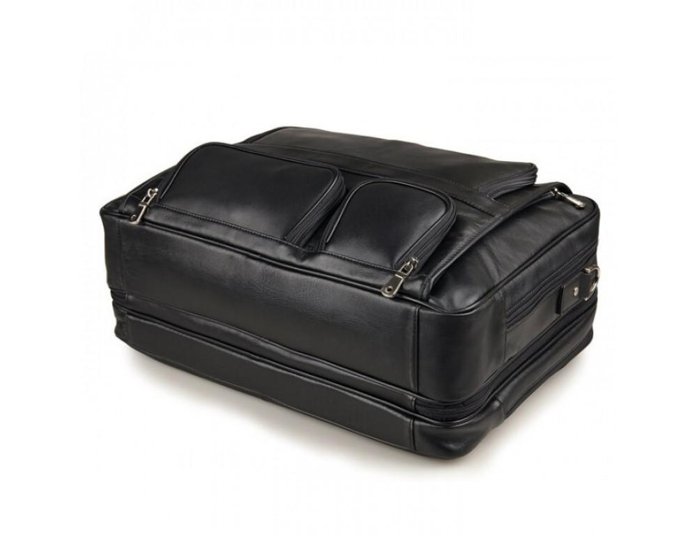 Чоловіча шкіряна сумка TIDING BAG 7289A - Фотографія № 10