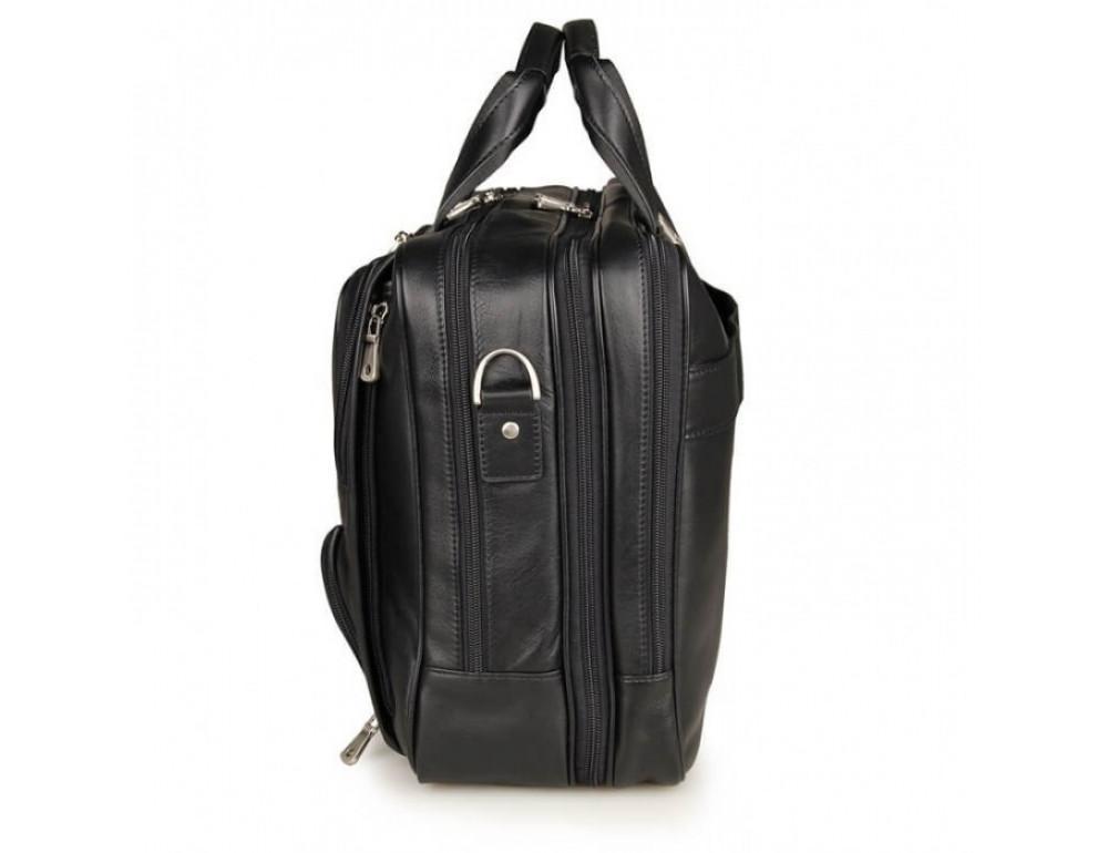 Чоловіча шкіряна сумка TIDING BAG 7289A - Фотографія № 9