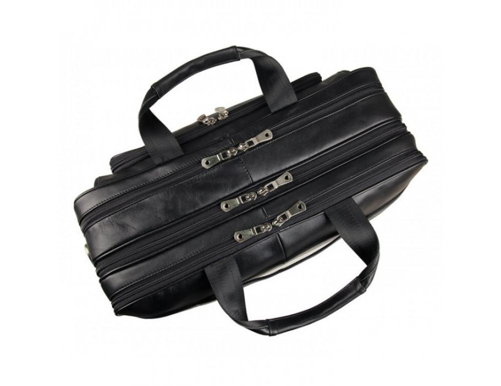 Чоловіча шкіряна сумка TIDING BAG 7289A - Фотографія № 8
