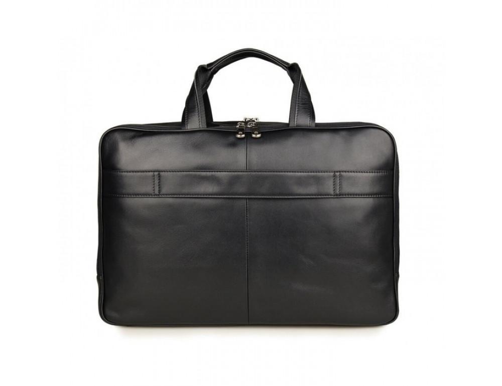 Чоловіча шкіряна сумка TIDING BAG 7289A - Фотографія № 6