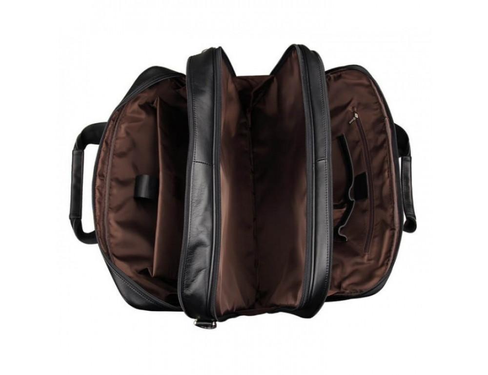 Чоловіча шкіряна сумка TIDING BAG 7289A - Фотографія № 5