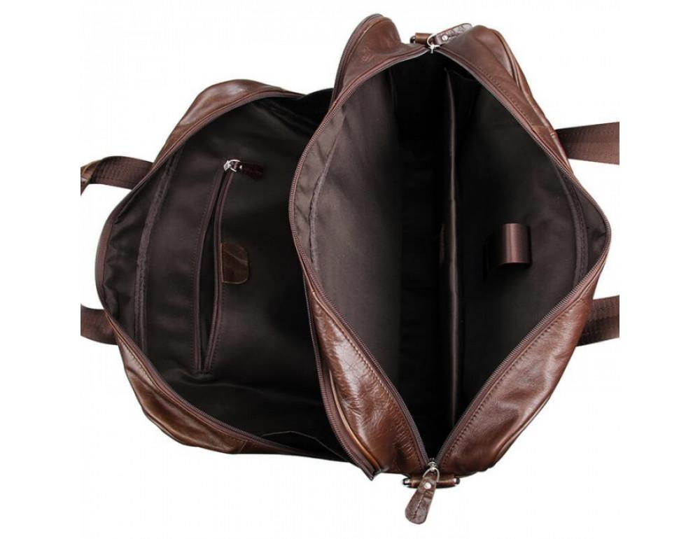 Чоловіча шкіряна сумка JASPER & MAINE 7319C - Фотографія № 13