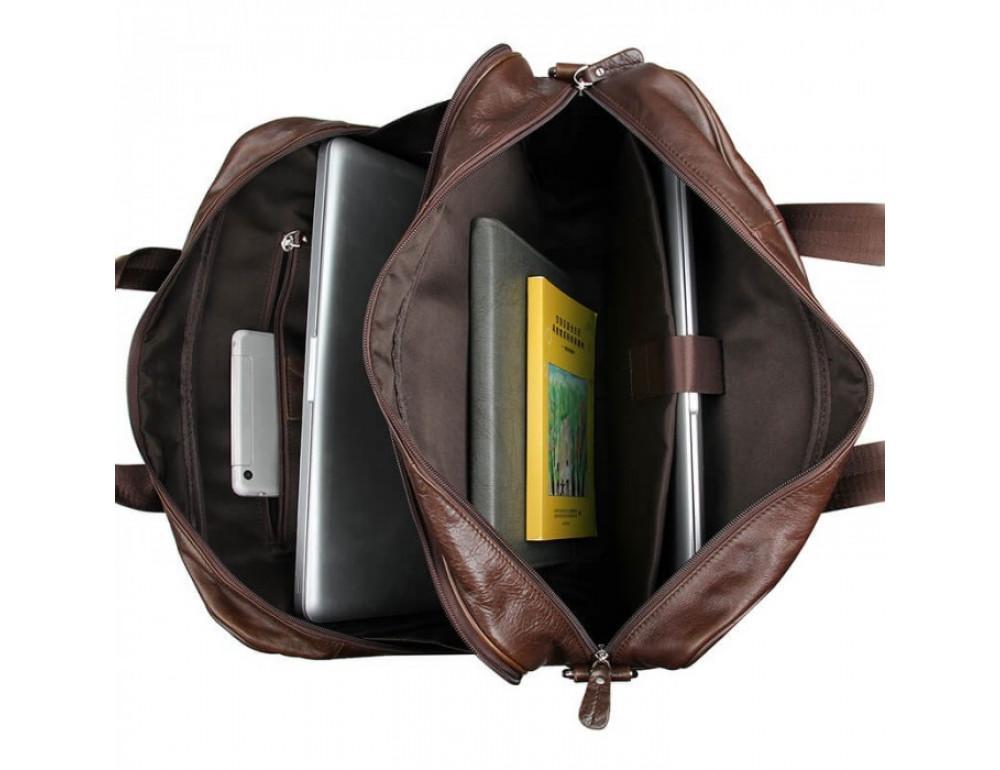 Чоловіча шкіряна сумка JASPER & MAINE 7319C - Фотографія № 14