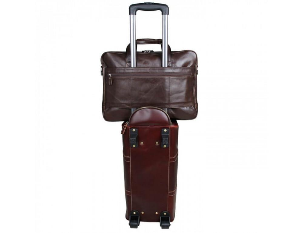 Чоловіча шкіряна сумка JASPER & MAINE 7319C - Фотографія № 15