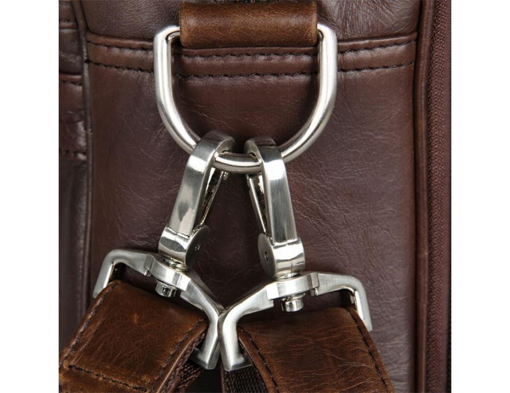 Чоловіча шкіряна сумка JASPER & MAINE 7319C - Фотографія № 3