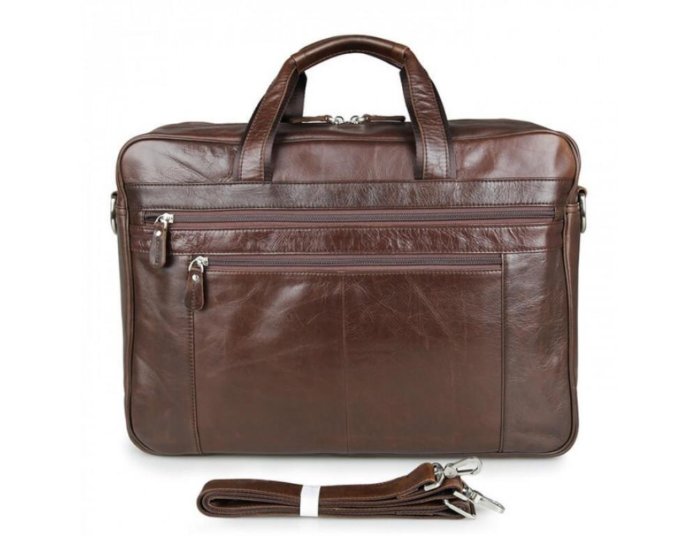 Чоловіча шкіряна сумка JASPER & MAINE 7319C - Фотографія № 4