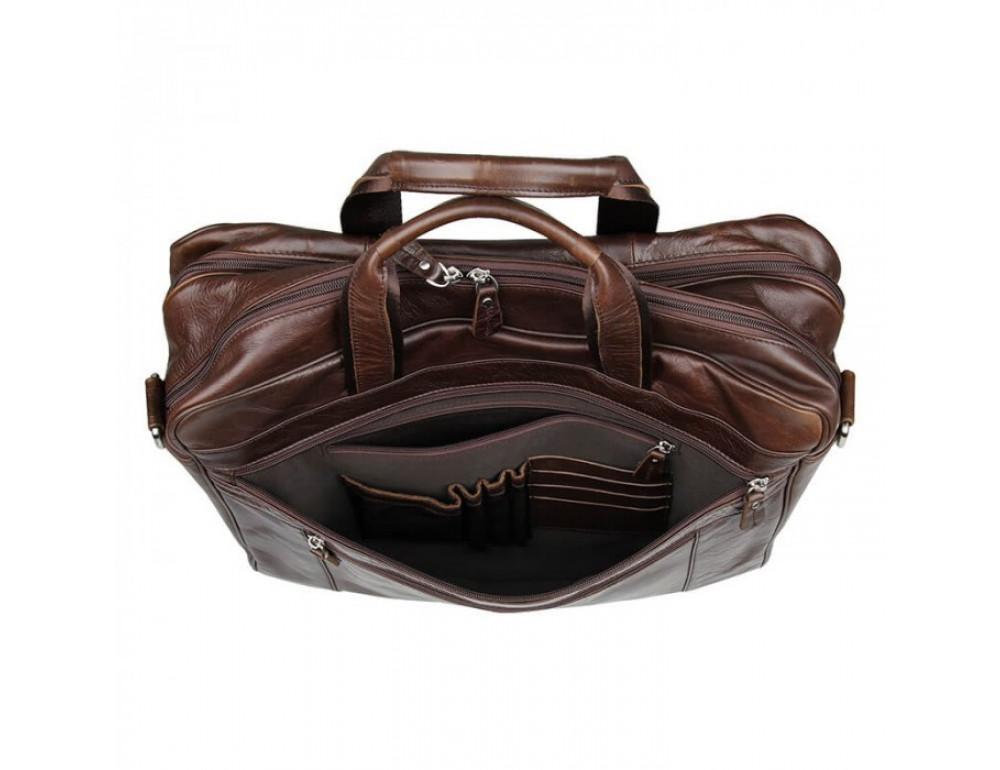 Чоловіча шкіряна сумка JASPER & MAINE 7319C - Фотографія № 7