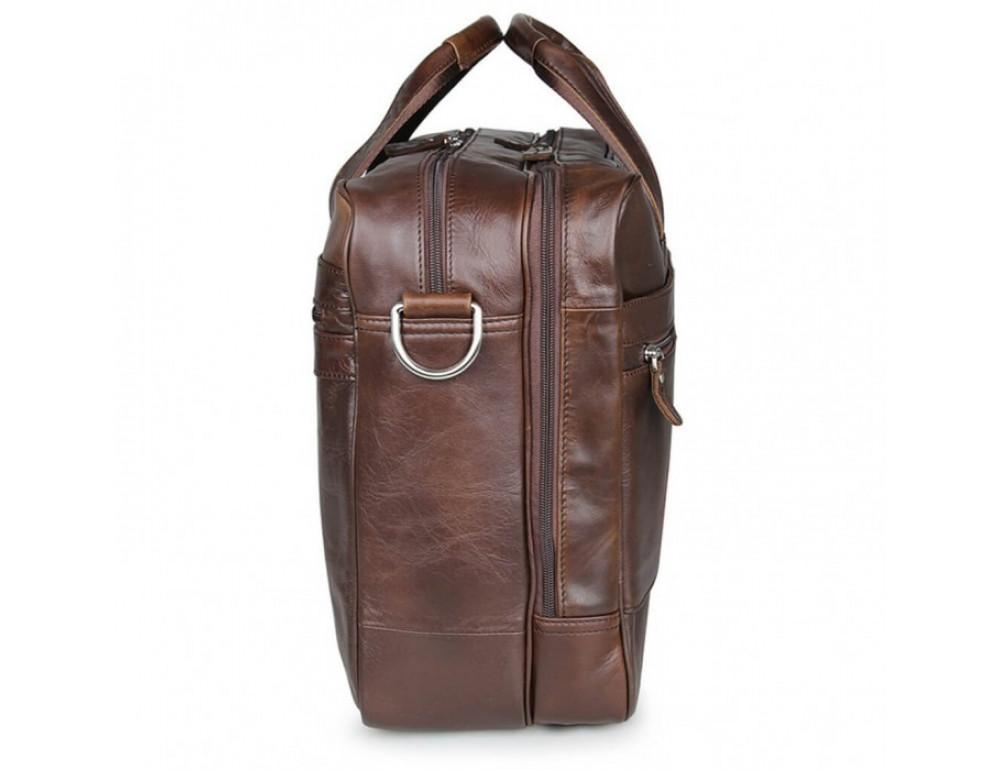 Чоловіча шкіряна сумка JASPER & MAINE 7319C - Фотографія № 10