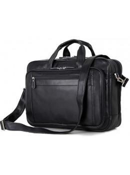 Мужская кожаная сумка TIDING BAG 7367A