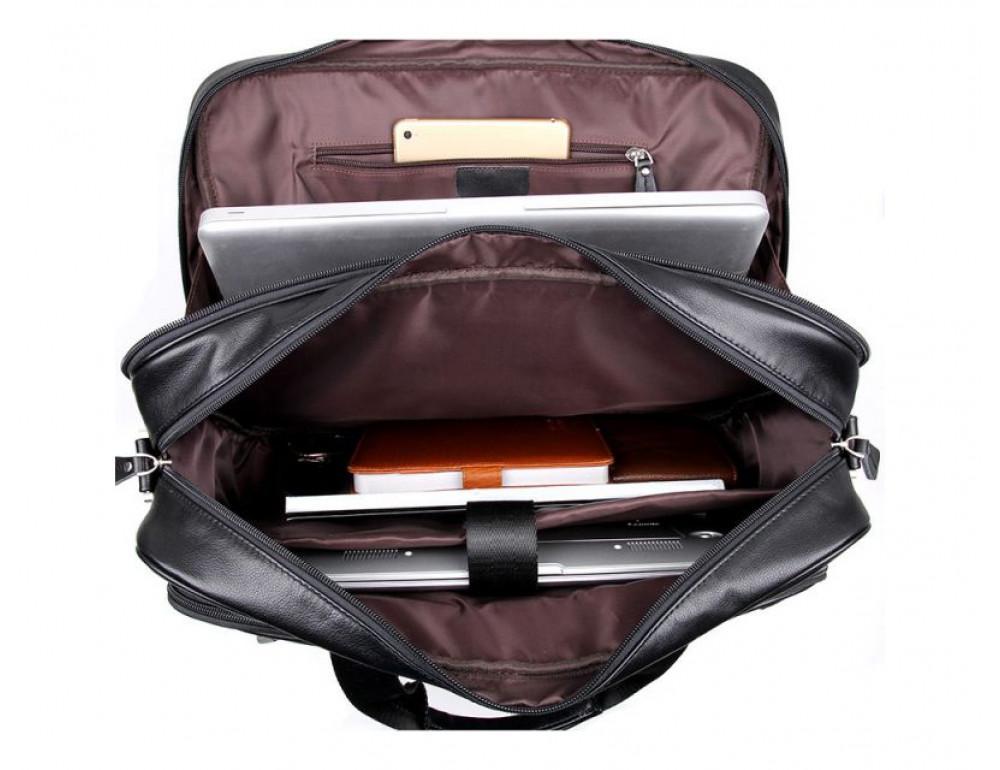 Мужская кожаная сумка TIDING BAG 7367A - Фото № 2