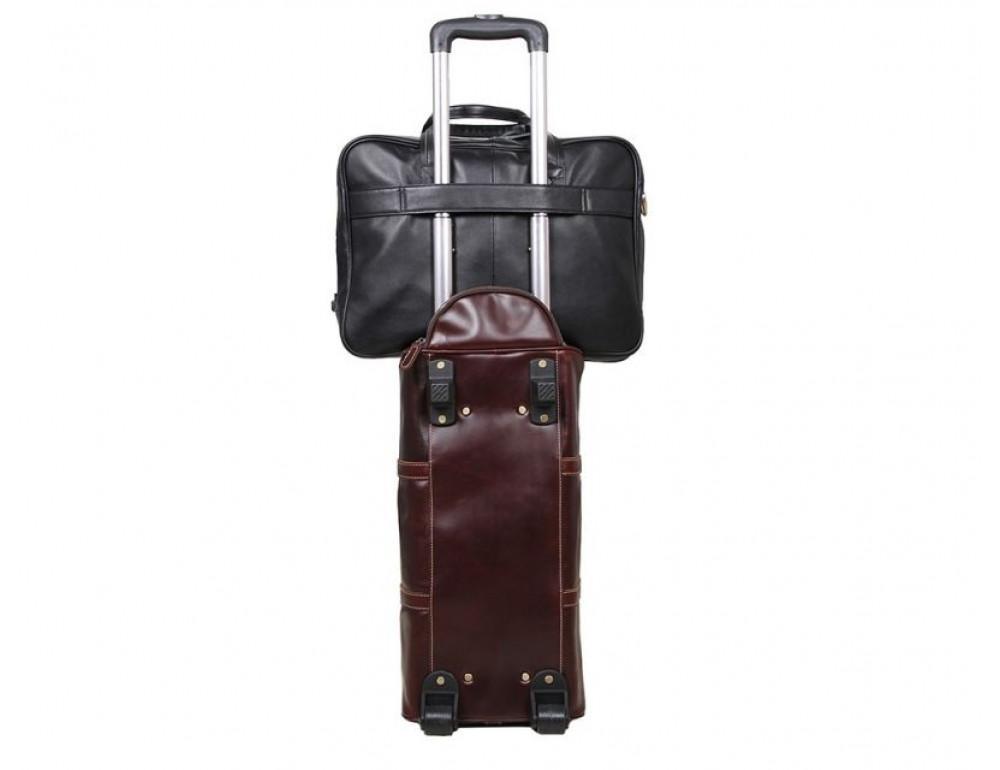 Мужская кожаная сумка TIDING BAG 7367A - Фото № 10