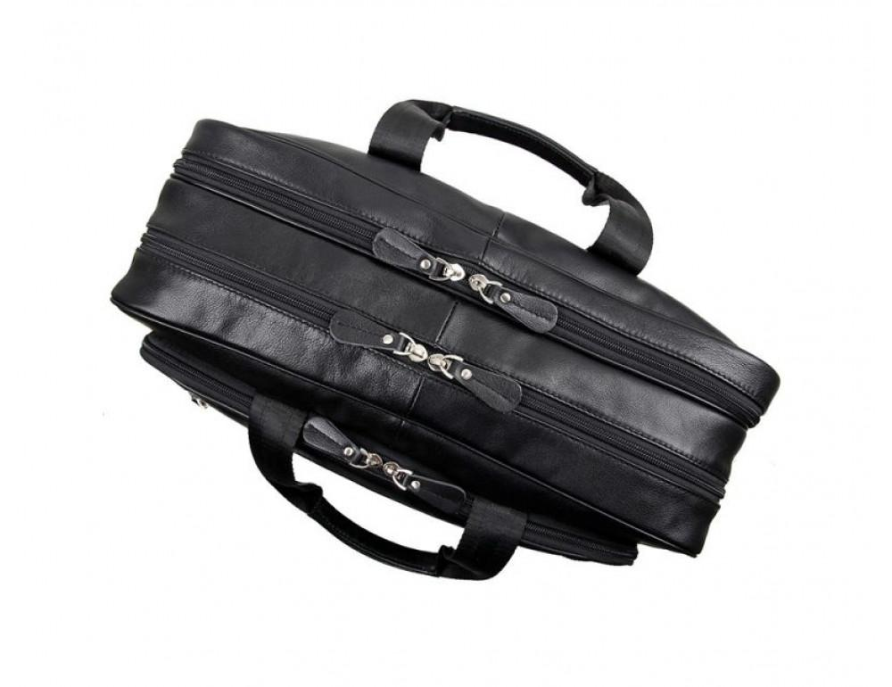 Мужская кожаная сумка TIDING BAG 7367A - Фото № 5