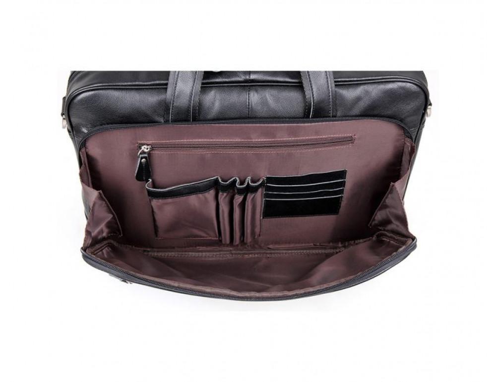 Мужская кожаная сумка TIDING BAG 7367A - Фото № 4