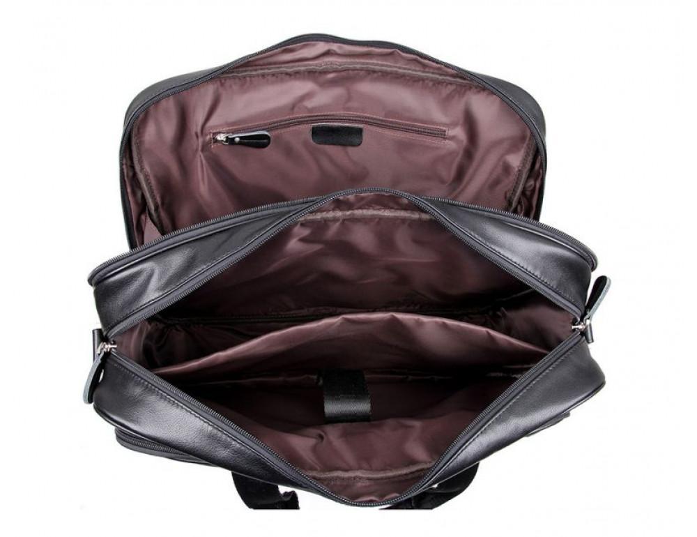 Мужская кожаная сумка TIDING BAG 7367A - Фото № 3