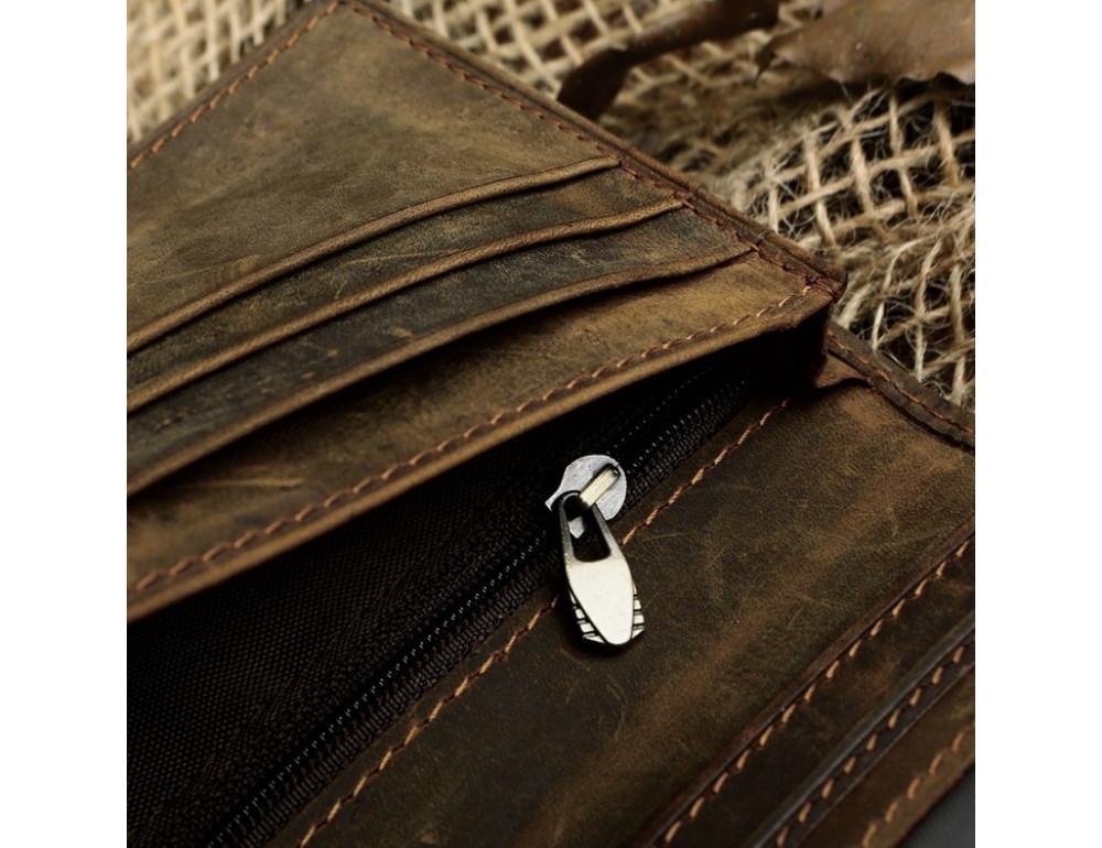 Кожаный портмоне TIDING BAG 8030R - Фото № 3