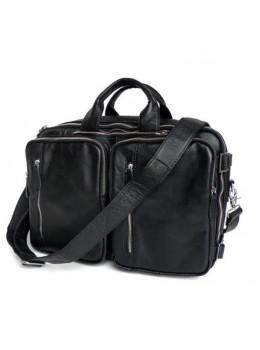 Мужская кожаная сумка - рюкзак JASPER-MAINE 7041A