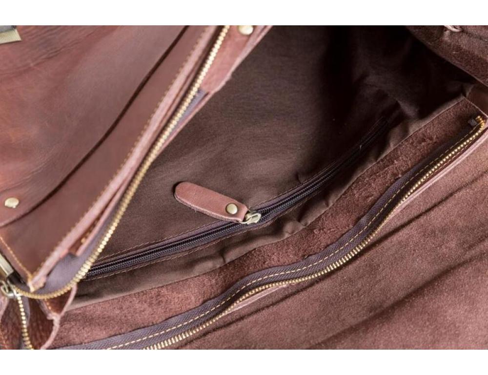 Чоловічий вінтажний портфель TIDING BAG GA2095B - Фотографія № 2