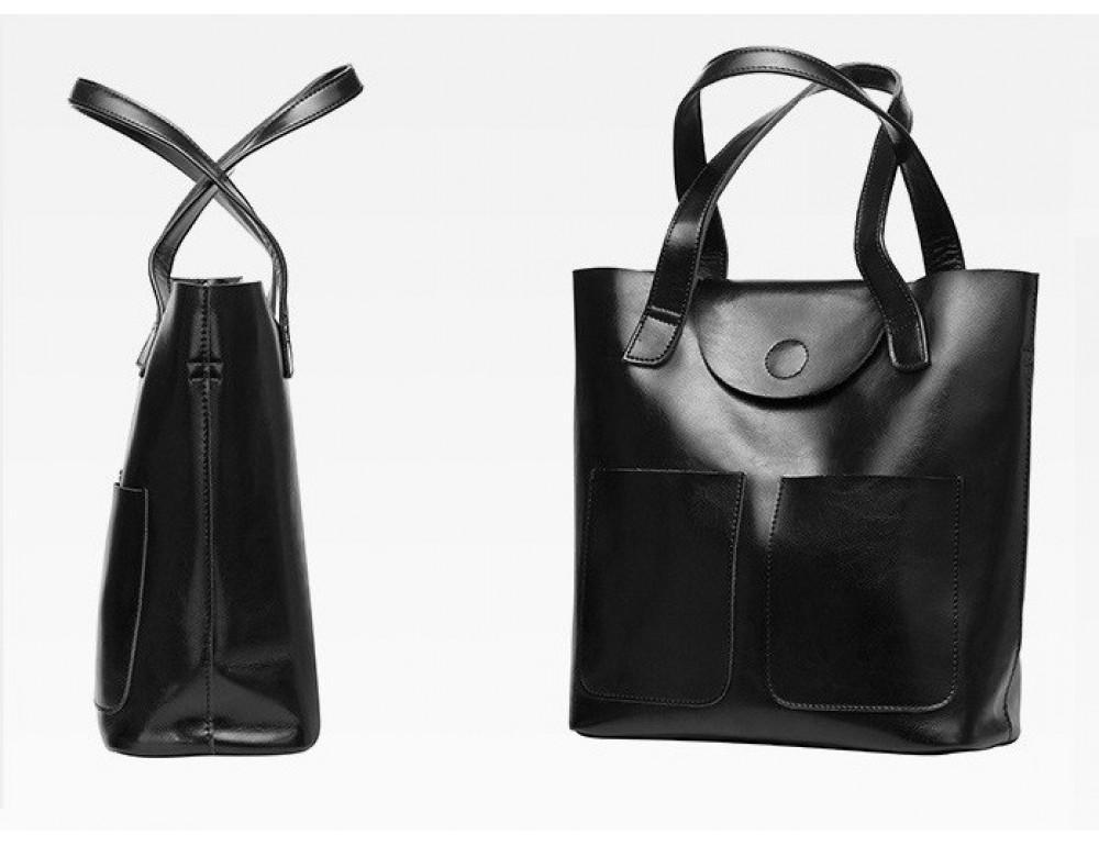 Кожаная женская сумка через плечо Grays GR-0599A - Фото № 5