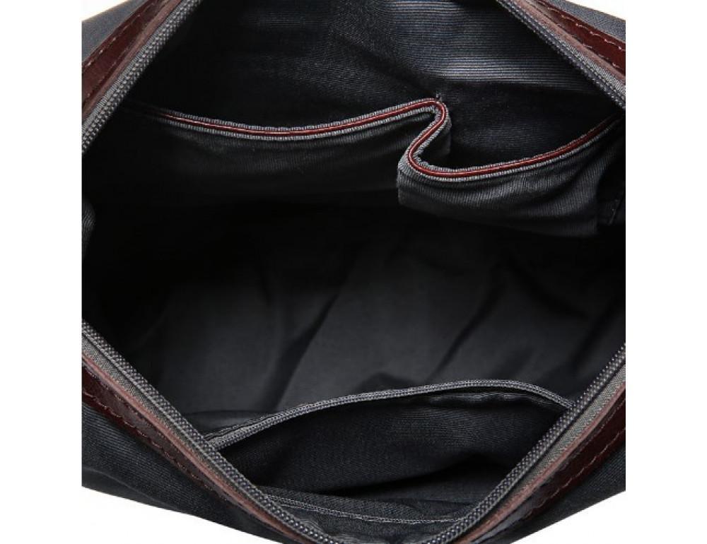Кожаная женская сумка через плечо Grays GR-0599A - Фото № 4