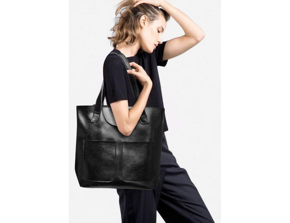 Кожаная женская сумка через плечо Grays GR-0599A - Фото № 3