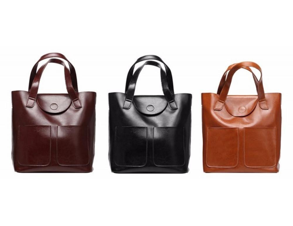Кожаная женская сумка через плечо Grays GR-0599A - Фото № 2