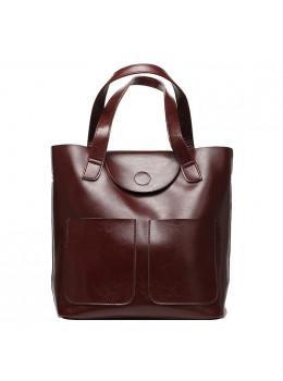 Кожаная женская сумка через плечо Grays GR-0599B