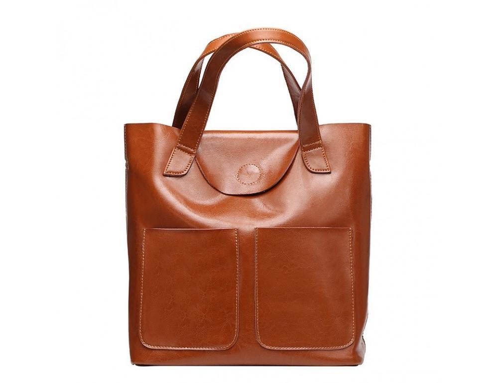 Кожаная женская сумка через плечо Grays GR-0599LB - Фото № 1