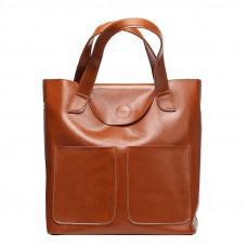 Шкіряна жіноча сумка через плече Grays GR-0599LB