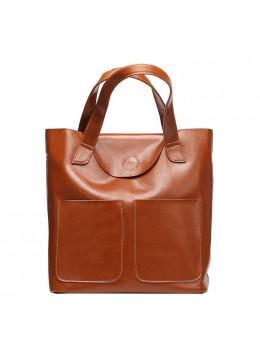 Кожаная женская сумка через плечо Grays GR-0599LB