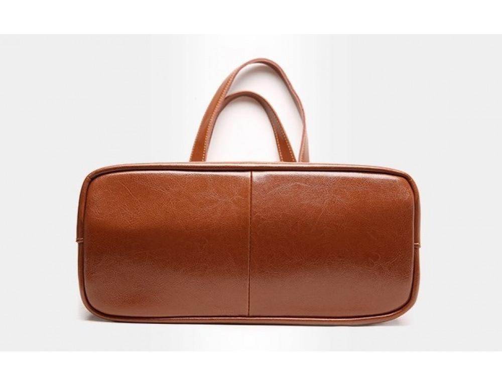 Кожаная женская сумка через плечо Grays GR-0599LB - Фото № 9