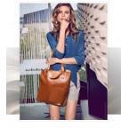 Кожаная женская сумка через плечо Grays GR-0599LB - Фото № 101