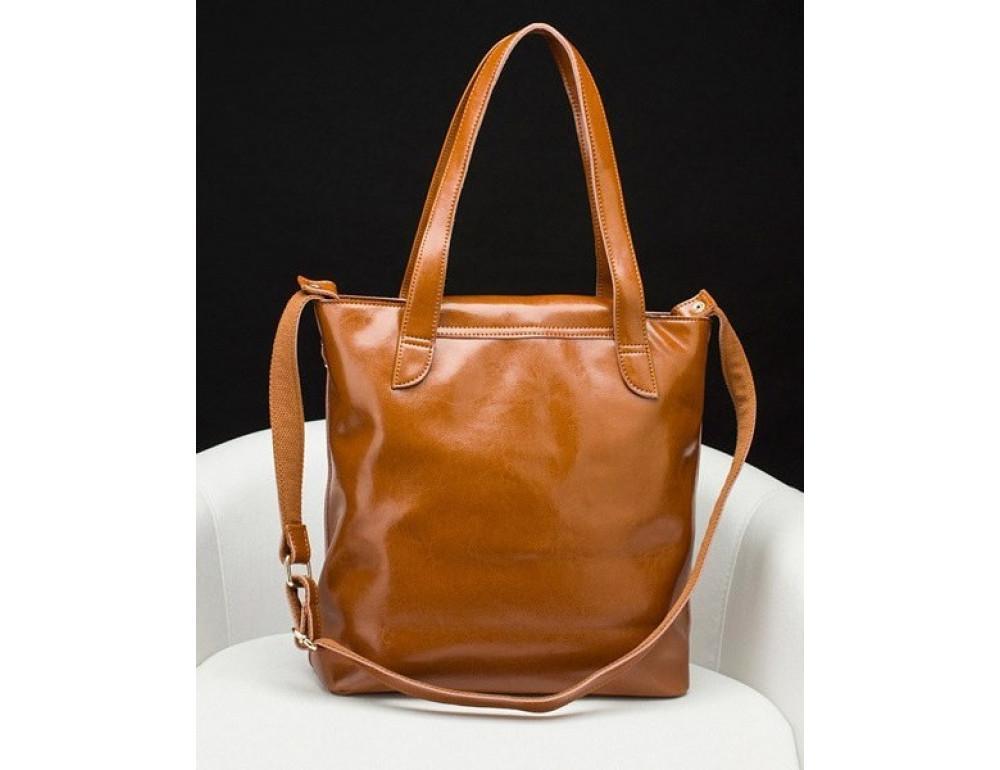 Кожаная женская сумка через плечо Grays GR-0599LB - Фото № 5