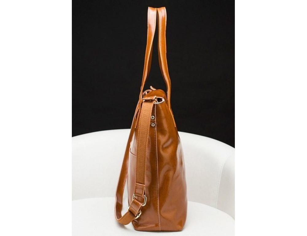 Кожаная женская сумка через плечо Grays GR-0599LB - Фото № 6