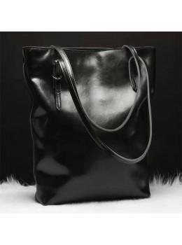 Вместительная женская сумка из кожи Grays GR-1230A
