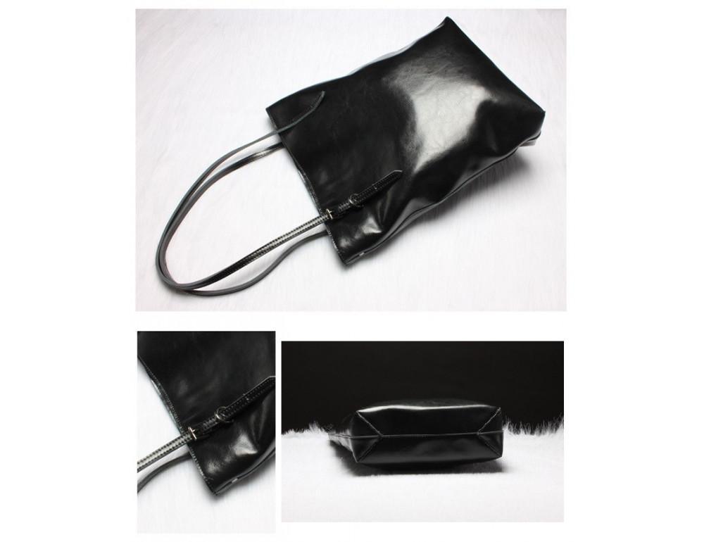 Містка жіноча сумка зі шкіри Grays GR-1230A - Фотографія № 2