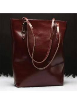 Вместительная женская сумка из кожи Grays GR-1230B