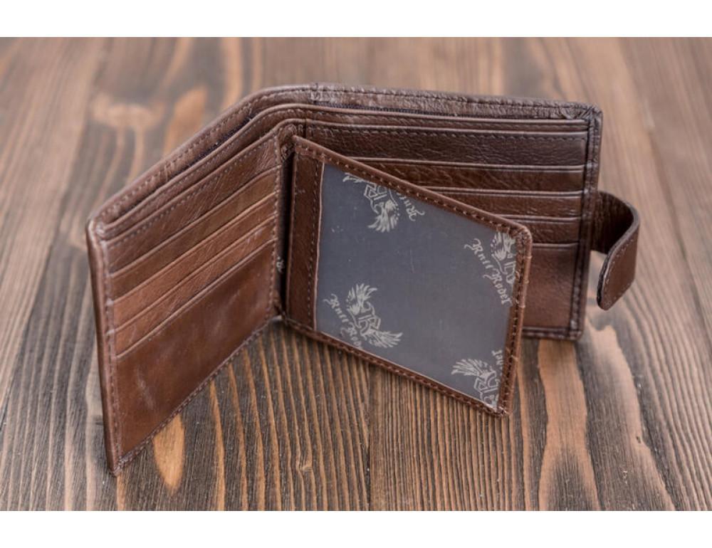 Мужской кожаный кошелёк Ruff Ryder RR-38128W - Фото № 2