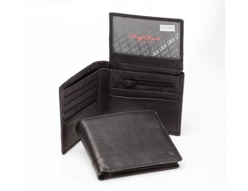 Мужской кожаный кошелёк Ruff Ryder RE-0043 - Фото № 2