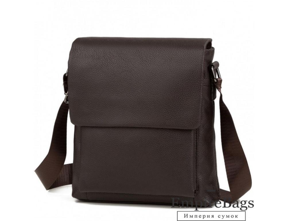 Мужская кожаная сумка-мессенджер TIDING BAG A25-1278C - Фото № 1