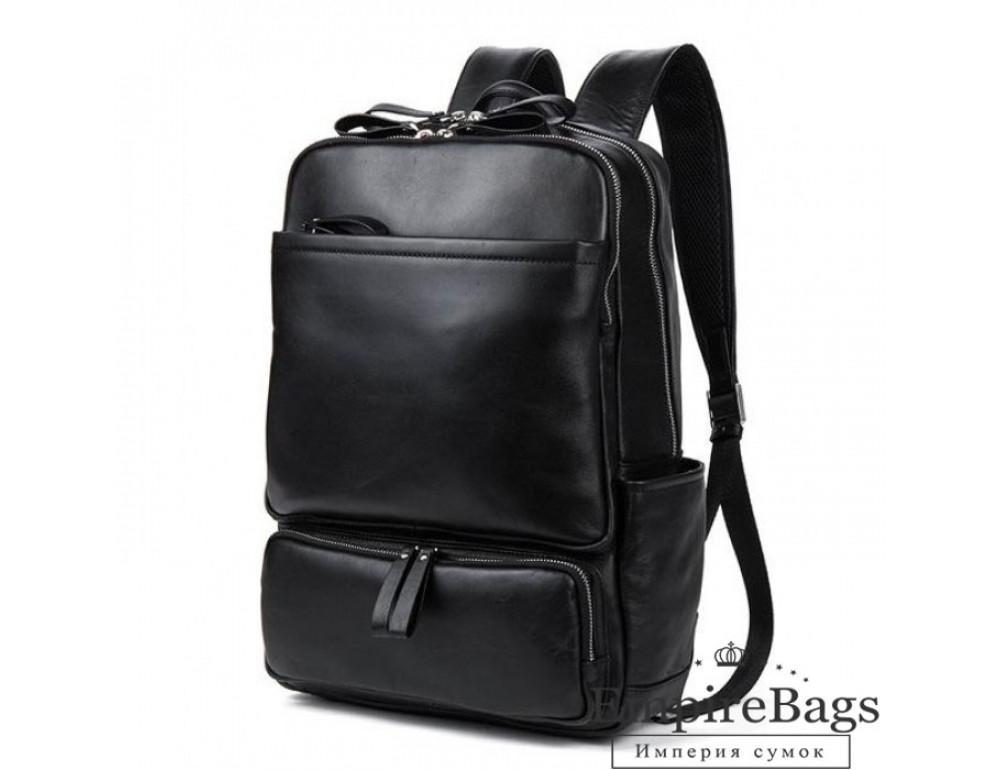 Шкіряний міський рюкзак Tiding Bag B3-1697A чорний