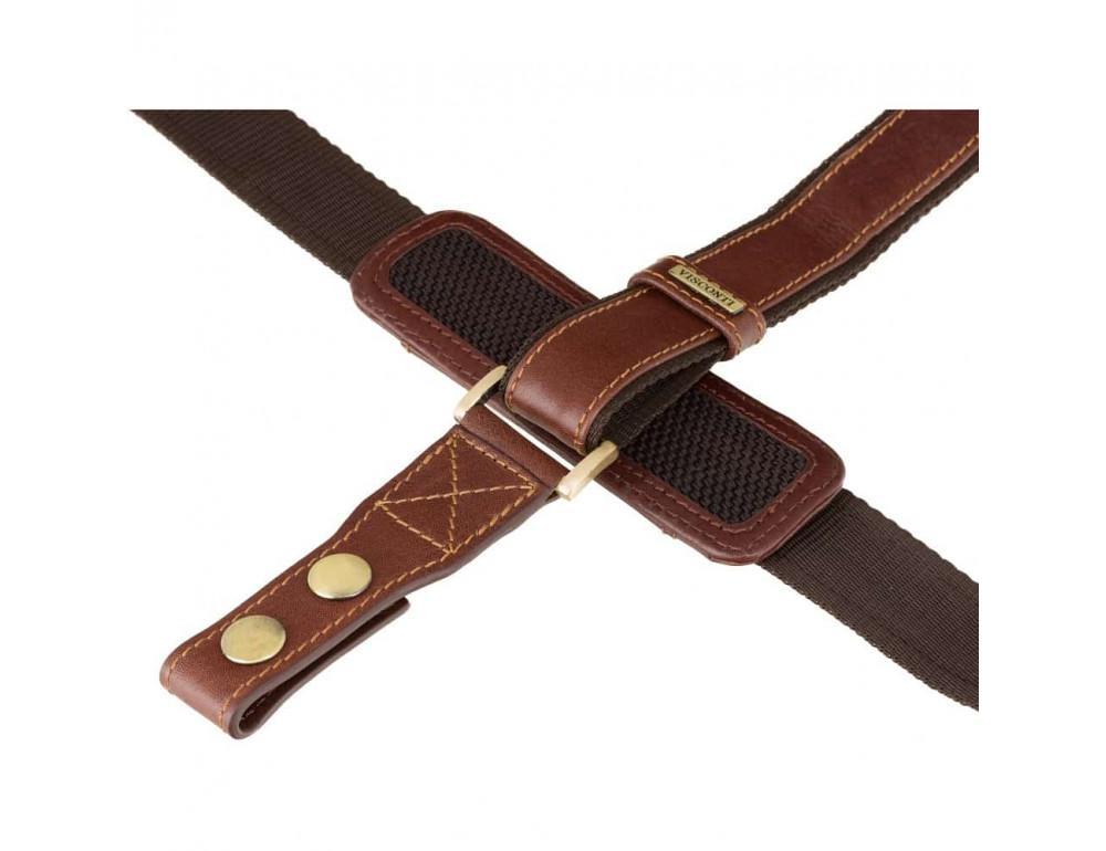 Кожаный портфель Visconti 01775 - Warwick (Brown) коричневый - Фото № 5