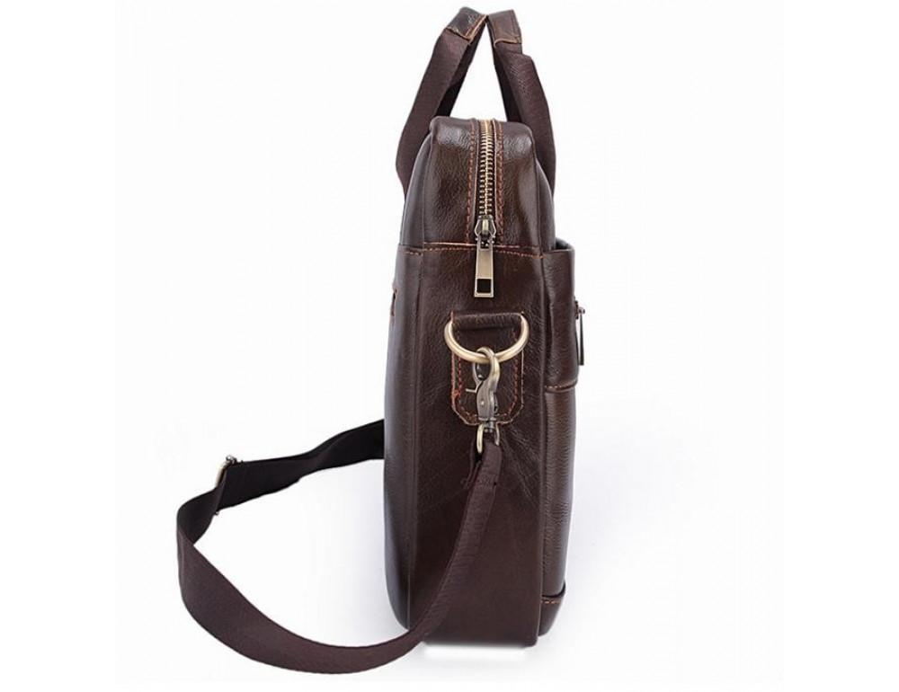 Чоловіча шкіряна сумка під ноутбук Bexhill Bx1128C - Фотографія № 8