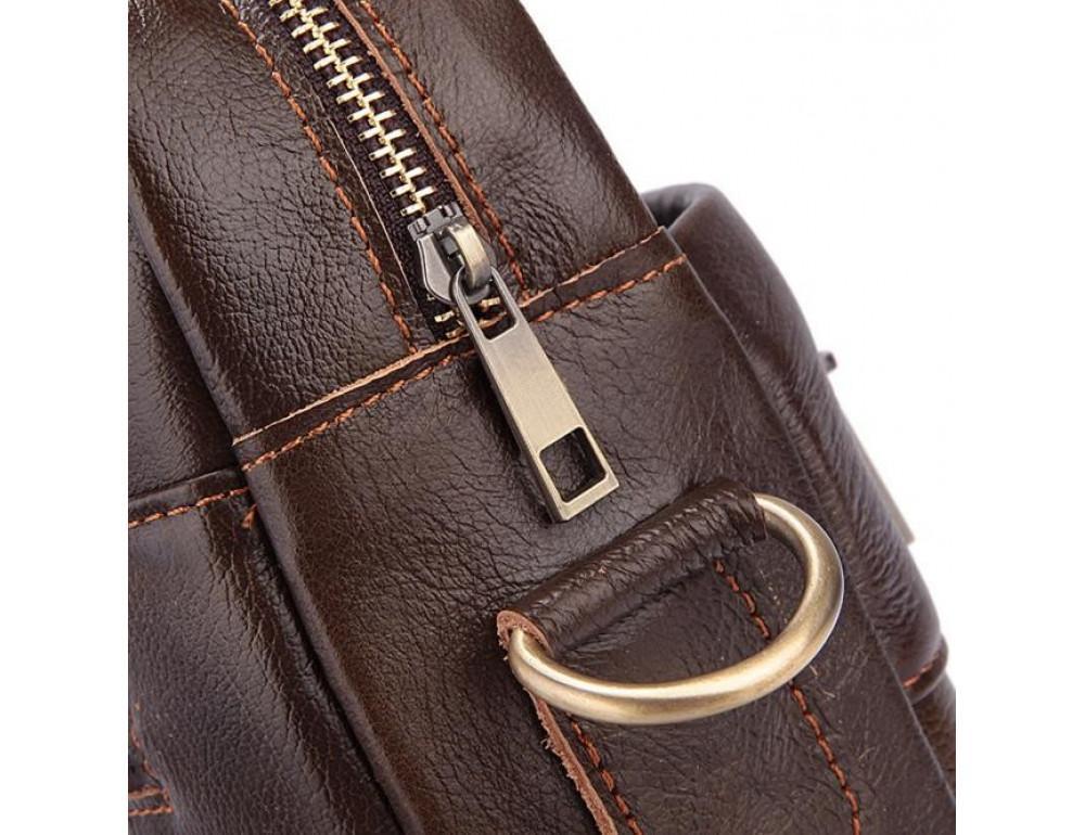 Чоловіча шкіряна сумка під ноутбук Bexhill Bx1128C - Фотографія № 7