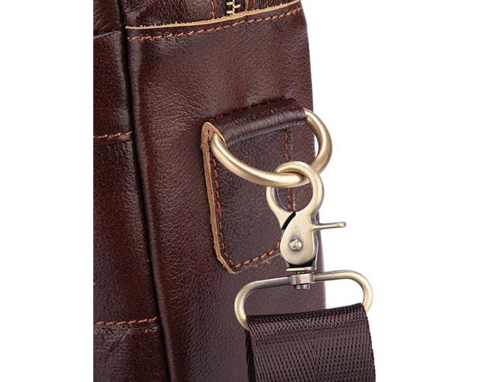 Мужская кожаная сумка Bexhill Bx1131C - Фото № 13