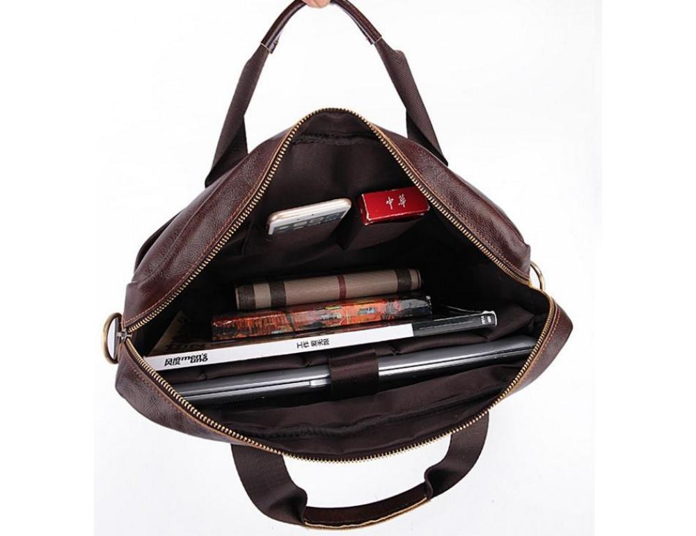 Мужская кожаная сумка Bexhill Bx1131C - Фото № 11