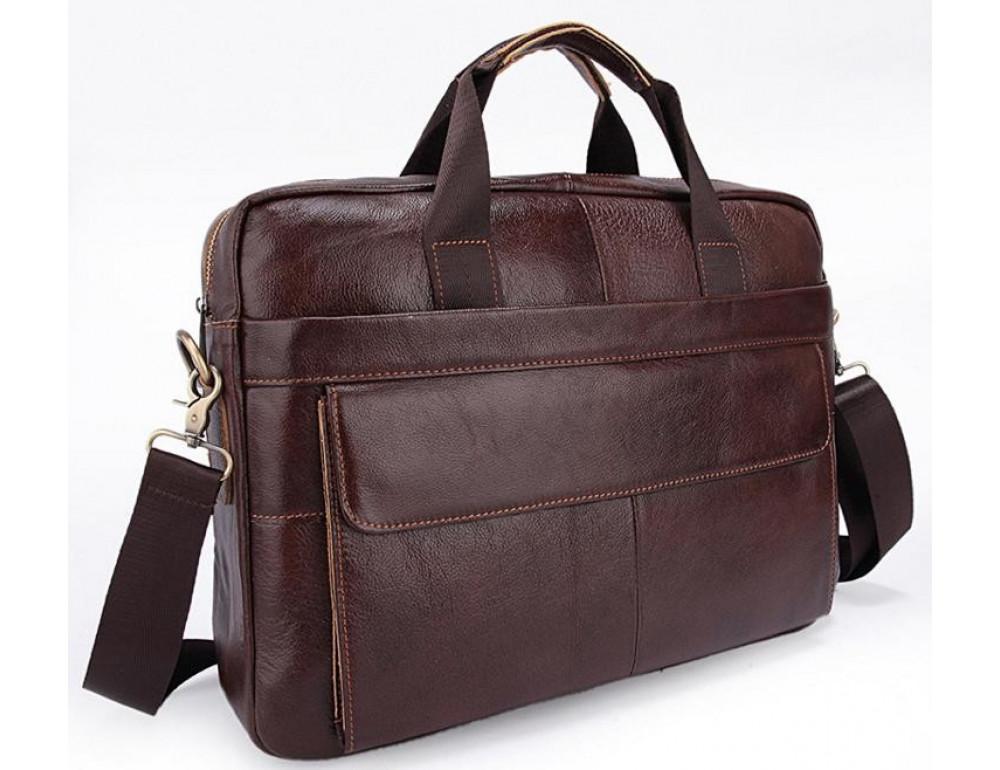 Мужская кожаная сумка Bexhill Bx1131C - Фото № 6