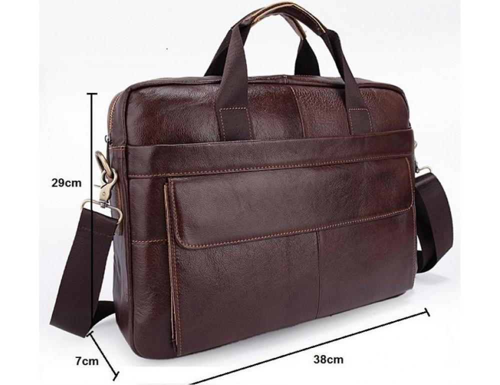Мужская кожаная сумка Bexhill Bx1131C - Фото № 4